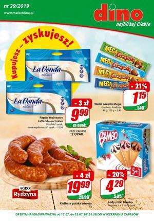 Gazetka promocyjna Dino, ważna od 17.07.2019 do 23.07.2019.