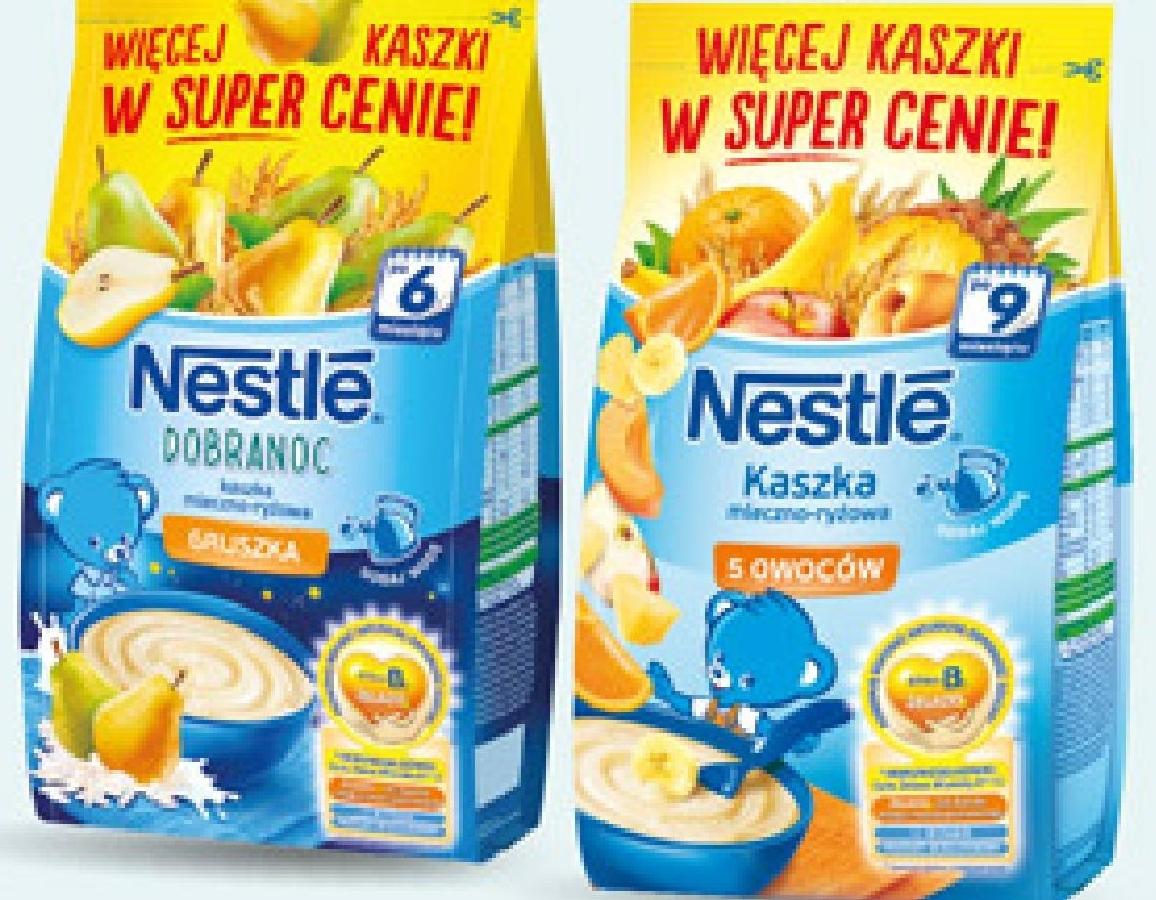 Kaszka mleczno-ryżowa Nestle, 330 g niska cena