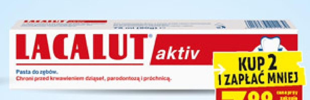 Pasta do zębów Lacalut aktiv, 75 ml  niska cena