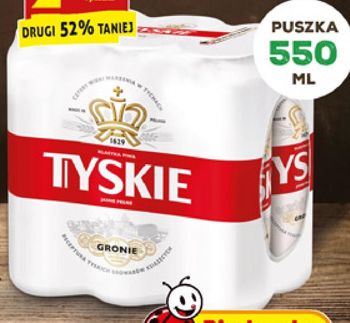 Piwo Tyskie Gronie niska cena
