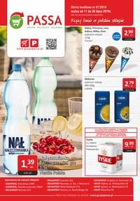 Gazetka promocyjna Passa, ważna od 11.07.2019 do 28.07.2019.