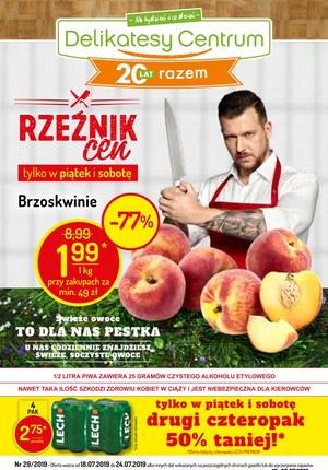 Gazetka promocyjna Delikatesy Centrum, ważna od 18.07.2019 do 24.07.2019.