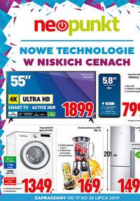 Gazetka promocyjna NEOPUNKT, ważna od 17.07.2019 do 30.07.2019.