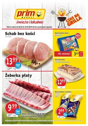 Gazetka promocyjna Prim Market, ważna od 18.07.2019 do 24.07.2019.