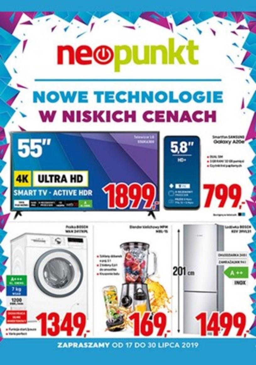 Gazetka promocyjna NEOPUNKT - ważna od 17. 07. 2019 do 30. 07. 2019