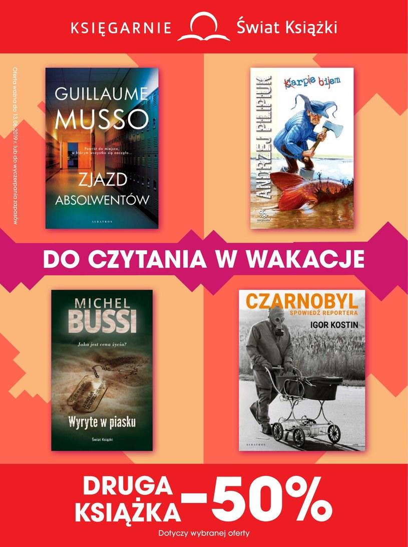 Gazetka promocyjna Księgarnie Świat Książki - wygasła 11 dni temu