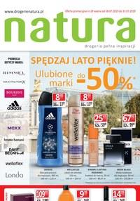 Gazetka promocyjna Drogerie Natura, ważna od 18.07.2019 do 31.07.2019.