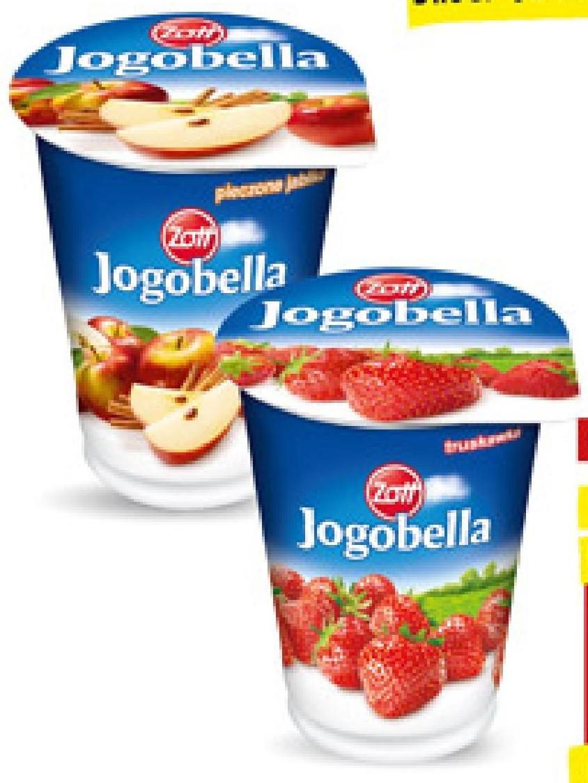 Jogurt owocowy Jogobella  niska cena