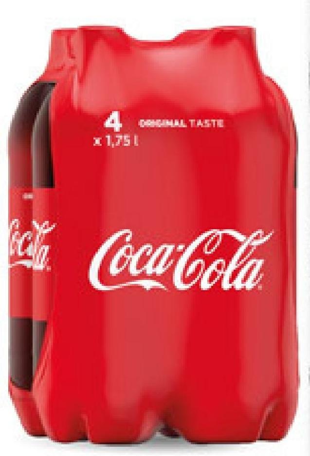 Coca Cola 4x1,75 l niska cena