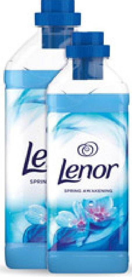 Zestaw płyn do płukania Lenor, 2,28 l/ 2,83 l niska cena