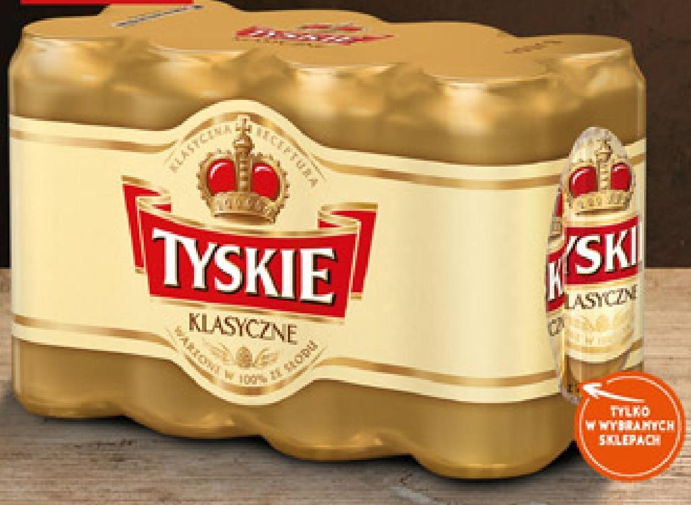 Piwo Tyskie Klasyczne niska cena