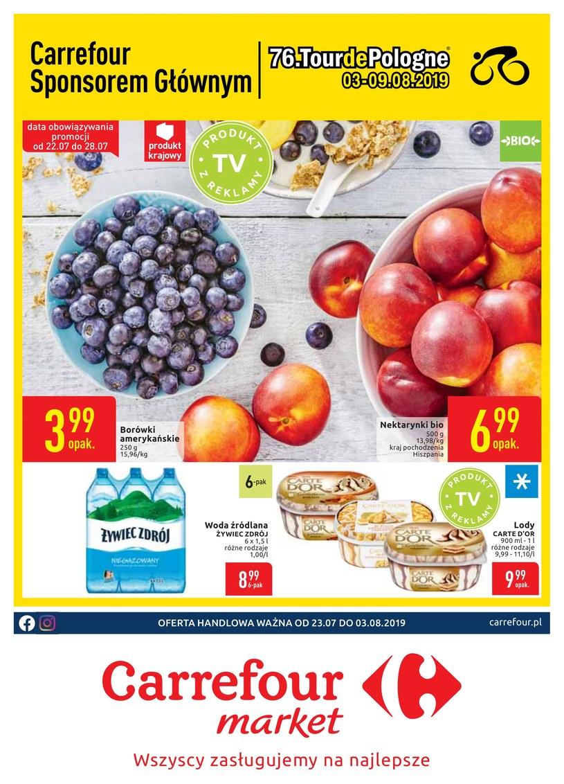 Gazetka promocyjna Carrefour Market - ważna od 23. 07. 2019 do 03. 08. 2019
