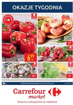 Gazetka promocyjna Carrefour Market, ważna od 23.07.2019 do 29.07.2019.