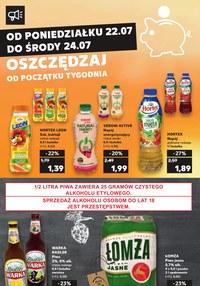 Gazetka promocyjna Kaufland, ważna od 22.07.2019 do 24.07.2019.