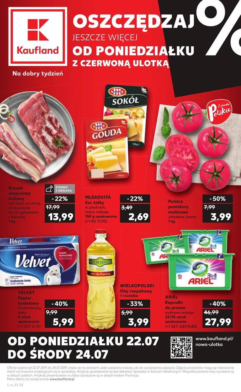 Gazetka promocyjna Kaufland - ważna od 22. 07. 2019 do 24. 07. 2019