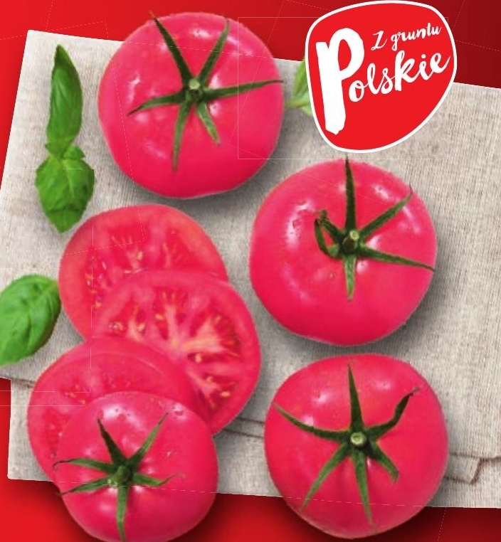 Polskie pomidory malinowe niska cena