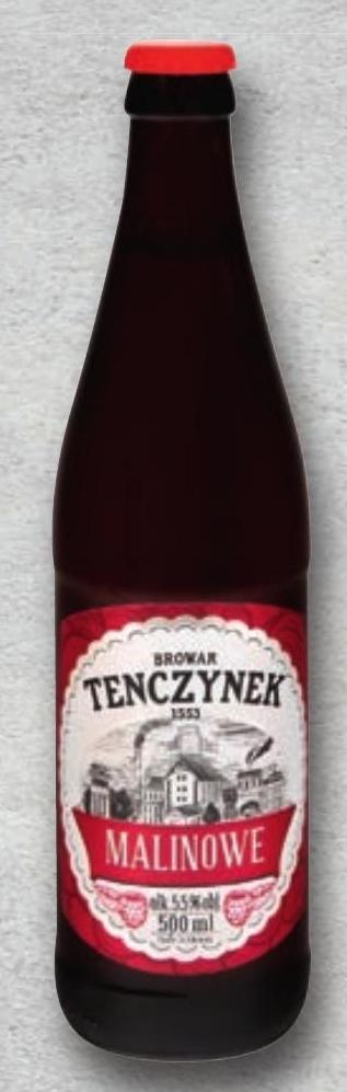Browar Tenczynek Piwo o smaku malinowym niska cena