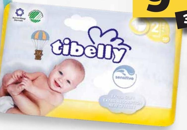 Pieluchy Mini Tibelly niska cena