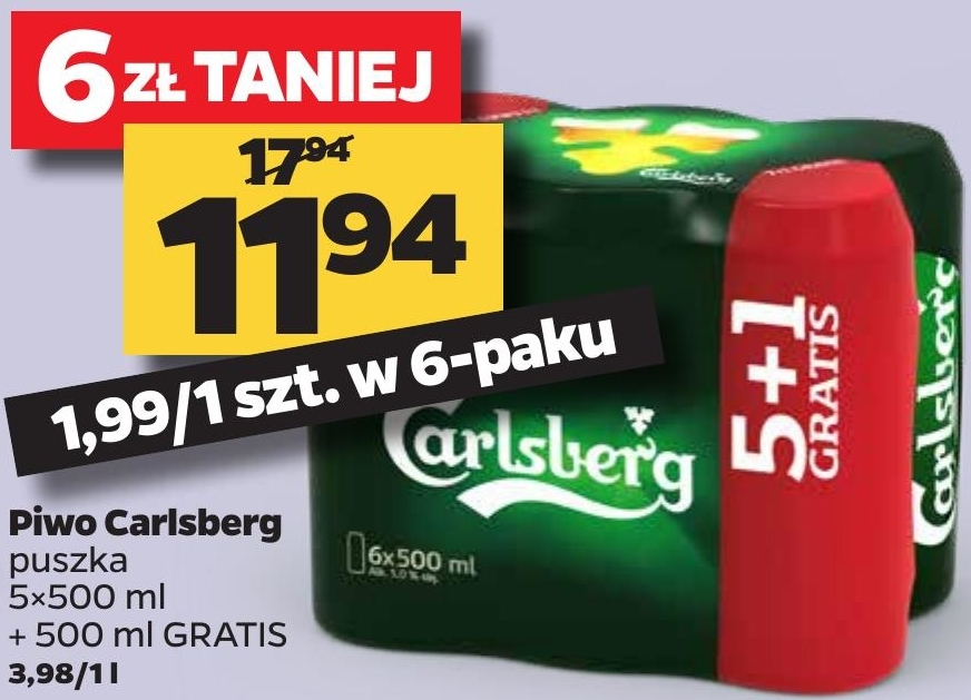 Piwo Caelsberg niska cena