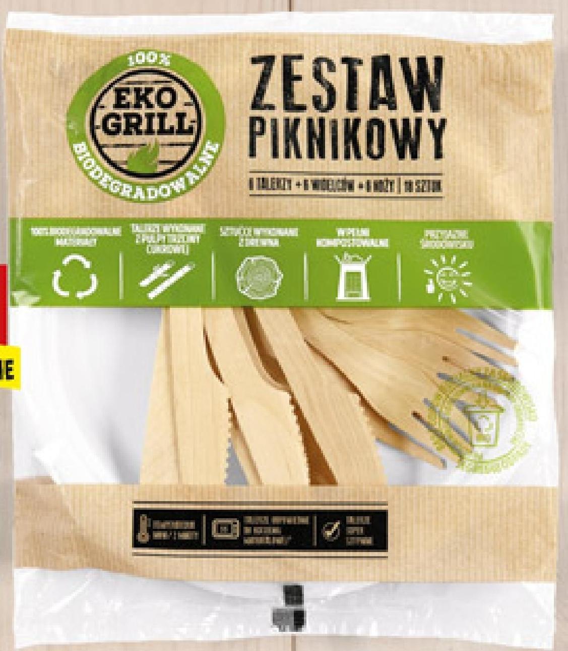 Zestaw piknikowy Eko Grill niska cena