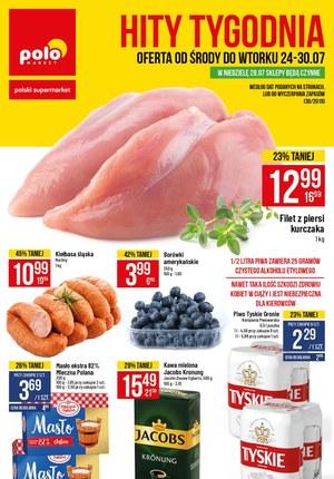 Gazetka promocyjna POLOmarket, ważna od 24.07.2019 do 30.07.2019.