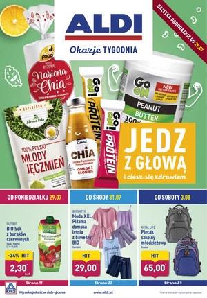 Gazetka promocyjna Aldi, ważna od 29.07.2019 do 03.08.2019.