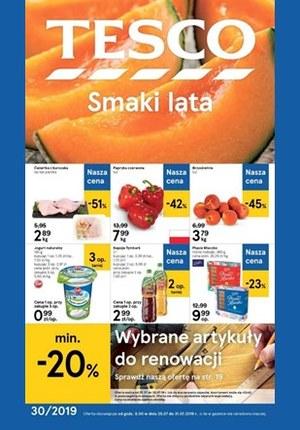Gazetka promocyjna Tesco, ważna od 25.07.2019 do 31.07.2019.