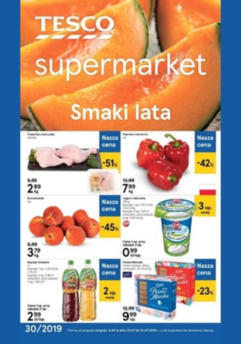 Gazetka promocyjna Tesco Supermarket - wygasła 0 dni temu
