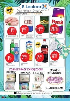 Gazetka promocyjna E.Leclerc, ważna od 23.07.2019 do 05.08.2019.