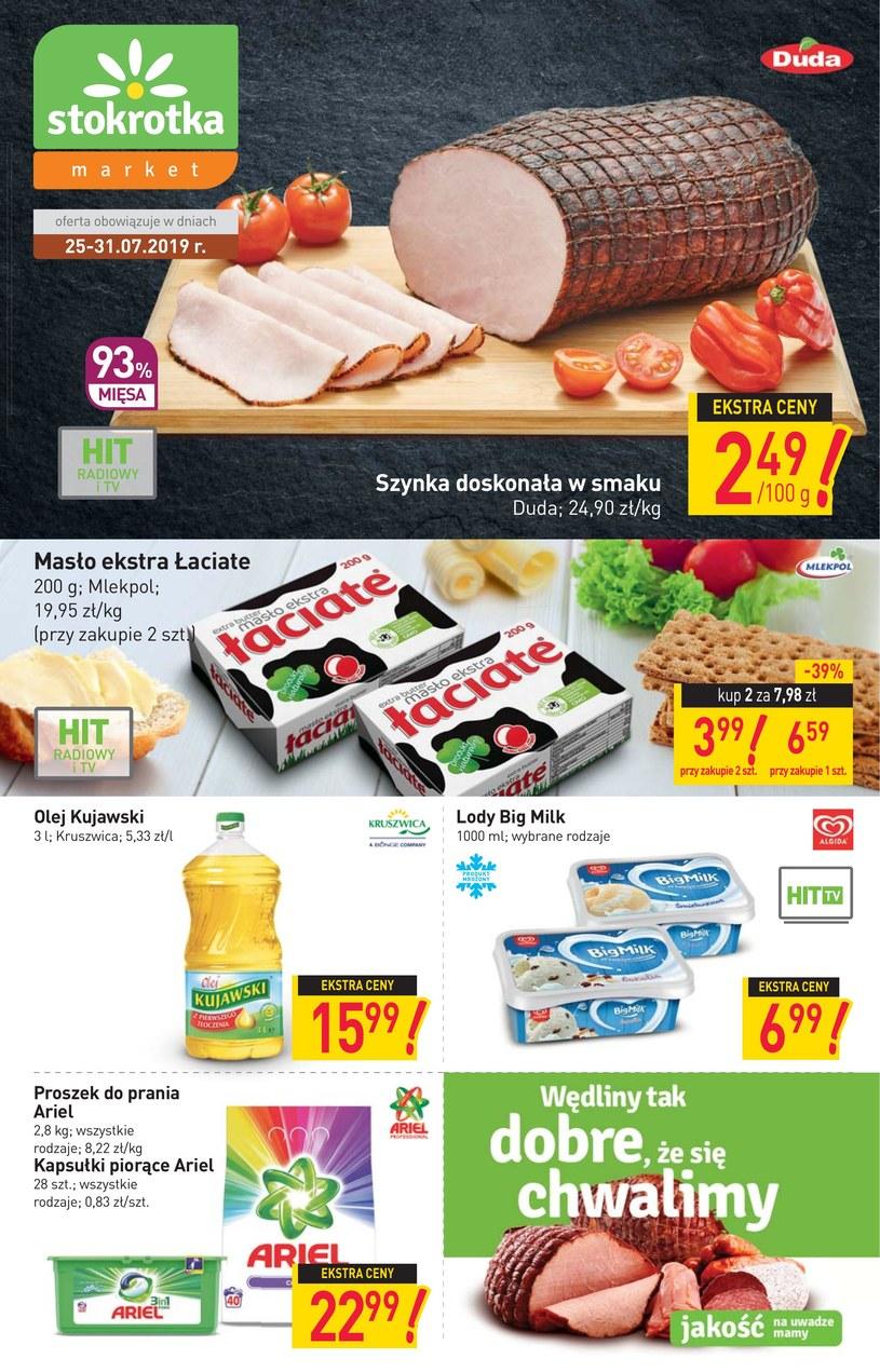 Gazetka promocyjna Stokrotka - ważna od 25. 07. 2019 do 31. 07. 2019