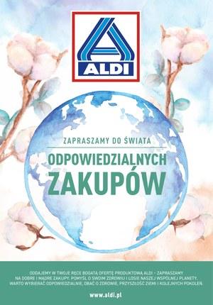Gazetka promocyjna Aldi - Zapraszamy do świata odpowiedzialnych zakupów