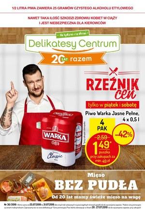 Gazetka promocyjna Delikatesy Centrum, ważna od 25.07.2019 do 31.07.2019.