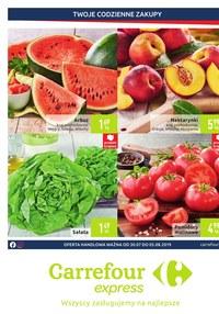 Gazetka promocyjna Carrefour Express - Oferta handlowa - ważna do 05-08-2019