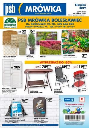 Gazetka promocyjna PSB Mrówka - Gazetka promocyjna - Bolesławiec