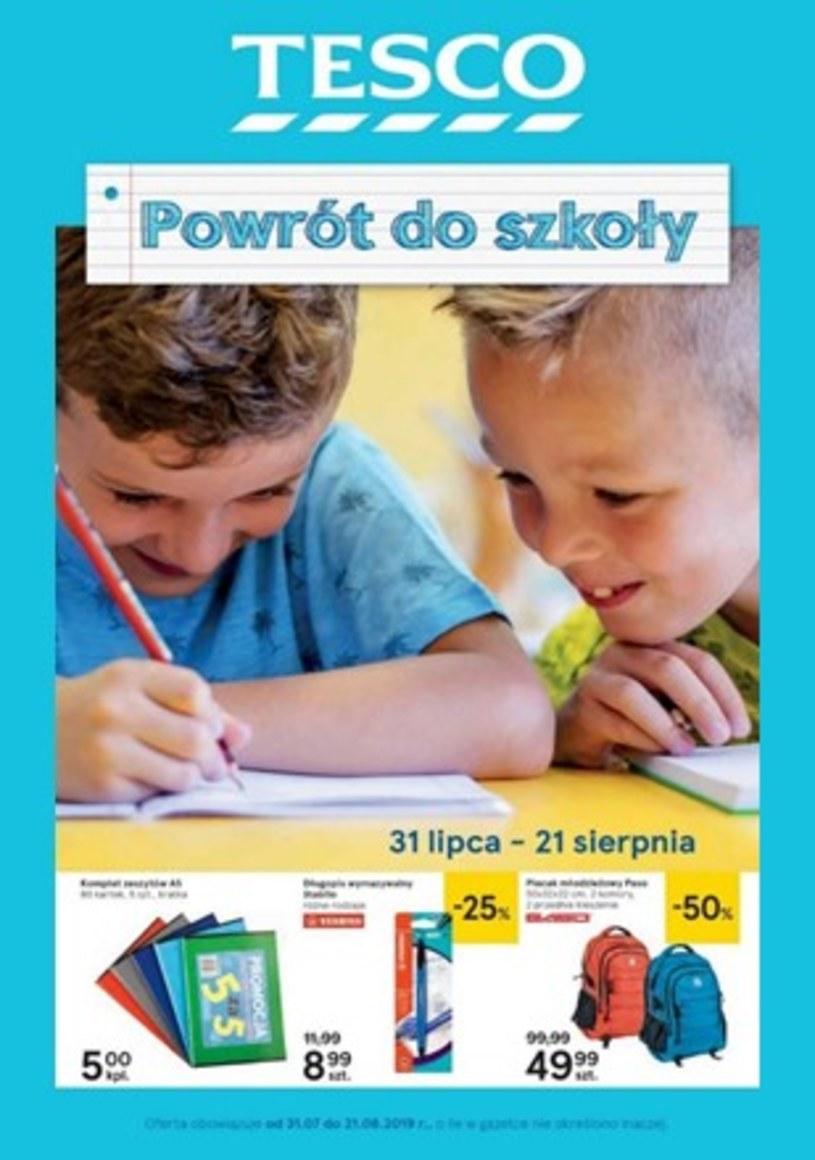 Gazetka promocyjna Tesco Hipermarket - ważna od 31. 07. 2019 do 21. 08. 2019