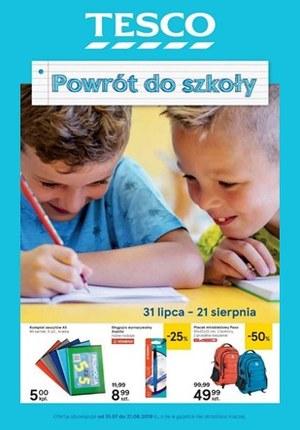 Gazetka promocyjna Tesco Hipermarket - Powrót do szkoły