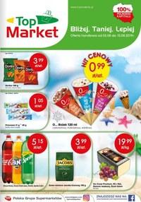 Gazetka promocyjna Top Market - Oferta handlowa - ważna do 10-08-2019
