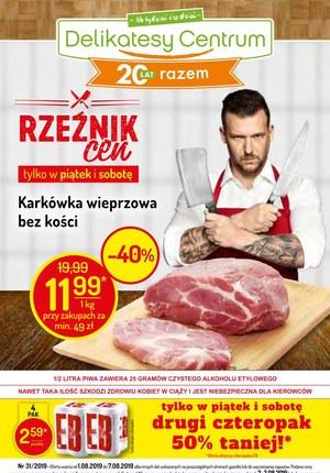 Gazetka promocyjna Delikatesy Centrum, ważna od 01.08.2019 do 07.08.2019.