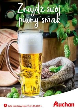 Gazetka promocyjna Auchan - Znajdź swój piwny smak