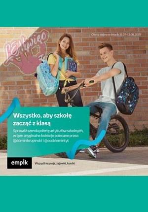 Gazetka promocyjna EMPiK - Wszystko, aby szkołę zacząć z klasą