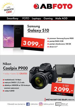 Gazetka promocyjna AB Foto, ważna od 01.08.2019 do 07.08.2019.