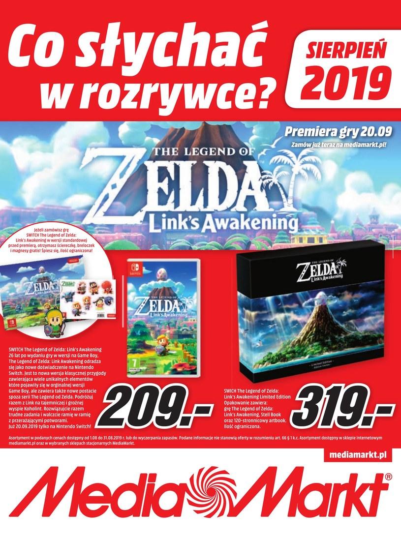 Gazetka promocyjna Media Markt - ważna od 01. 08. 2019 do 31. 08. 2019