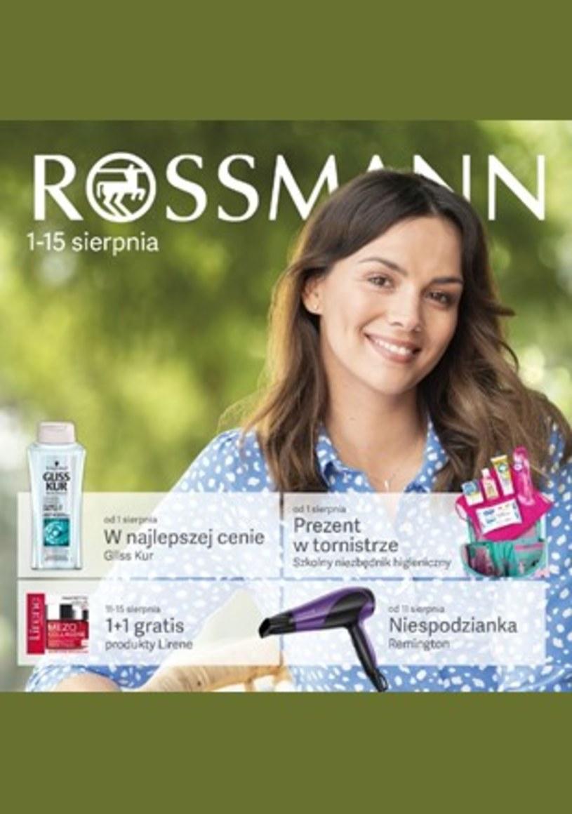 Gazetka promocyjna Rossmann - wygasła 6 dni temu