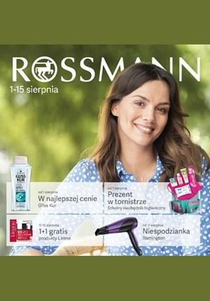 Gazetka promocyjna Rossmann, ważna od 01.08.2019 do 15.08.2019.