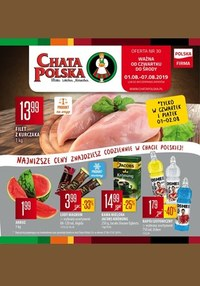 Gazetka promocyjna Chata Polska - Gazetka promocyjna - ważna do 07-08-2019