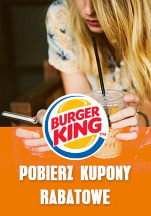 Gazetka promocyjna Burger King - Kupony sierpień-wrzesień