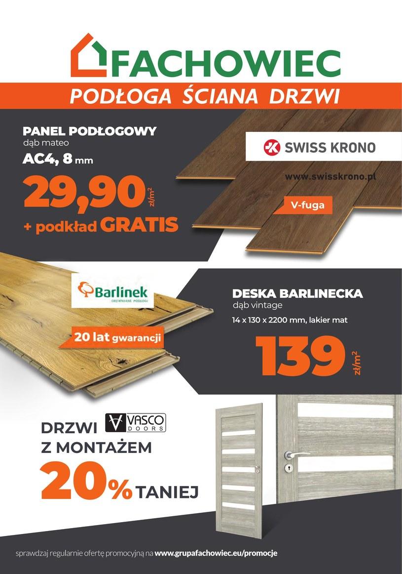 Gazetka promocyjna Fachowiec - ważna od 01. 08. 2019 do 30. 09. 2019