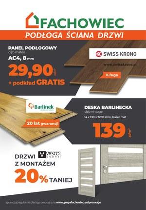 Gazetka promocyjna Fachowiec, ważna od 01.08.2019 do 30.09.2019.