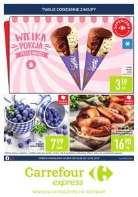 Gazetka promocyjna Carrefour Express - Wielka porcja przyjemności - ważna do 12-08-2019