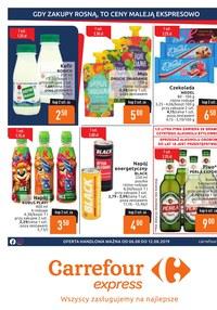 Gazetka promocyjna Carrefour Express - Gazetka promocyjna  - ważna do 12-08-2019